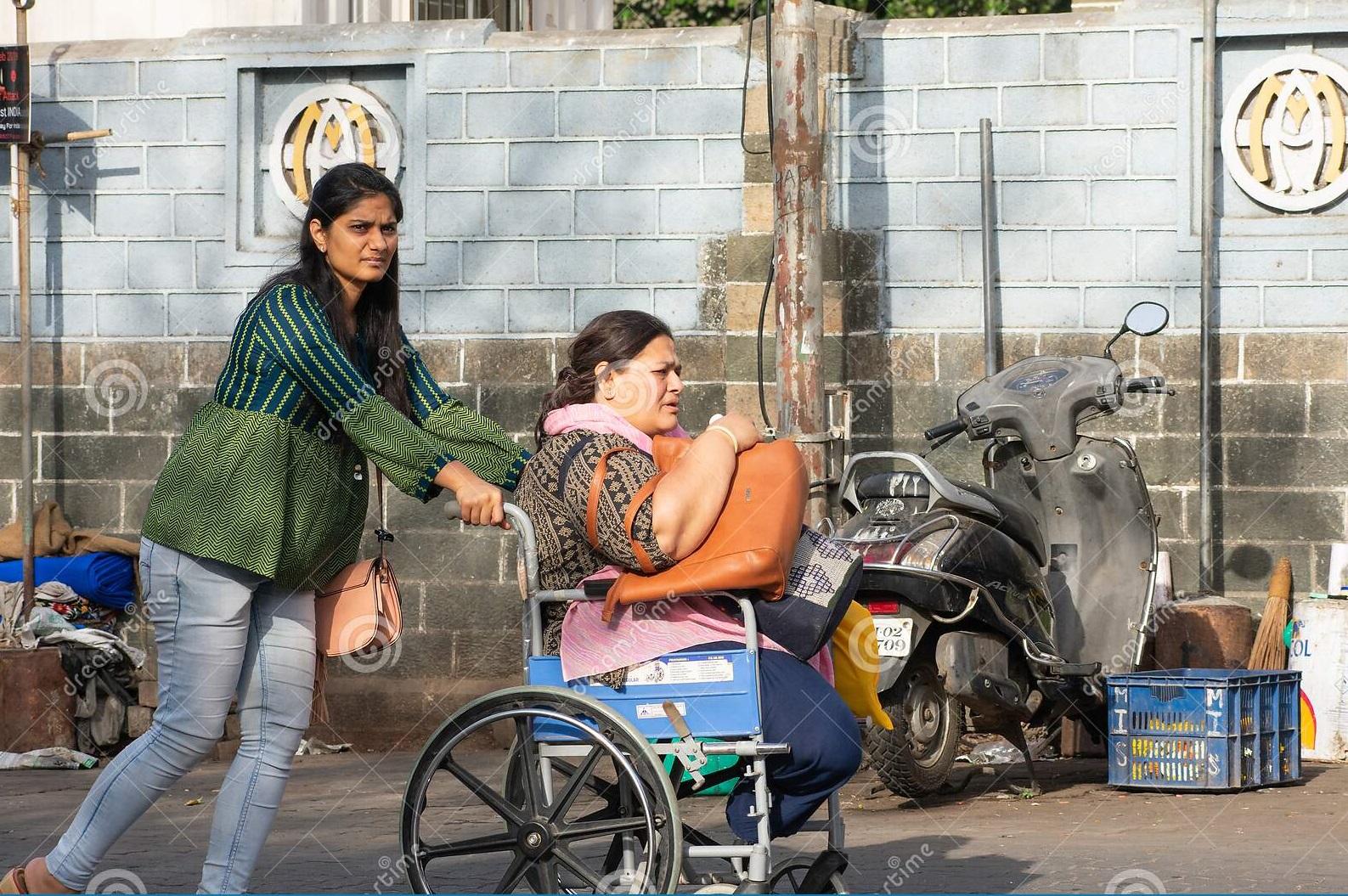 handicap person